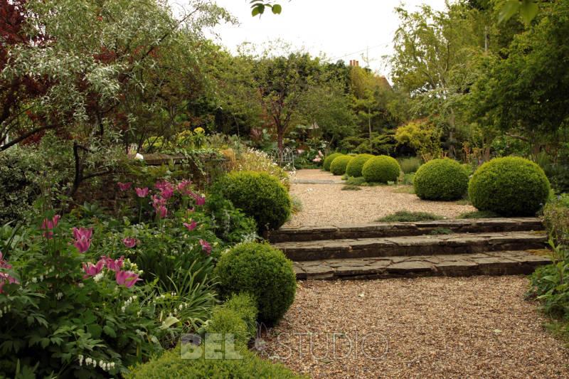 Дизайнерский сад фото 5